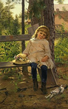 View Golden locks by John George Brown on artnet. Browse upcoming and past auction lots by John George Brown. Paintings I Love, Beautiful Paintings, Illustrations, Illustration Art, Robert Duncan, Creation Photo, Portraits, Historical Art, Victorian Art