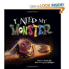 I LOVE this book! It's a clever twist on a common childhood fear. The illustrations, story line, characters, and the writing are all fantastic.