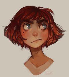 Random grumpy girl who is now an oc. Her name's Noa :>