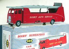 Original Dinky Toys Auto Service Car Carrier Truck No 984 VGCB. | eBay