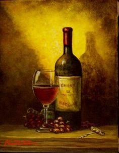 Vine- Italian art