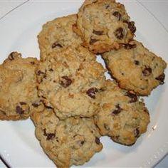 Oatmeal Chocolate Chip Cookies III Allrecipes.com