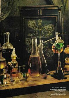 """This is the class website for """"Wizarding Science"""", a HOL class which tries to combine magic and science in order to explain some of the wonders of the world of Harry Potter. Alchemy, Larp, La Belle Epoque Paris, Slytherin, Hogwarts, Mad Scientist Lab, Maleficarum, Yennefer Of Vengerberg, By Any Means Necessary"""