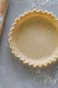 Perfect pie crust tutorial. Good one to know this time of year for Fall baking