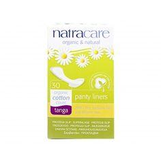 Absorvente diário orgânico Natracare Tanga com 30 absorventes- Lohas Store