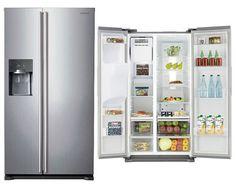 Tesco direct: Samsung RS7567BHCSP, American Style Fridge Freezer, Water & Ice Dispenser, Platinum Silver