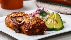 Burrito-Stuffed Chicken Rollups  #BurritoStuffed #chicken #RollUps