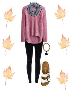 """Happy Thanksgiving!!"" by cgriffin03 ❤ liked on Polyvore featuring J.Crew and Birkenstock"