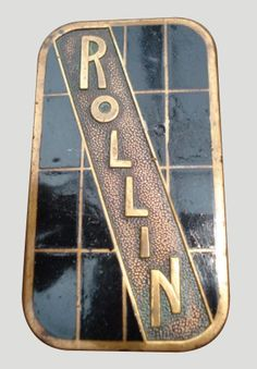 Rollin Car Badge
