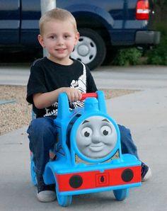 Riding the Step2 Thomas Coaster
