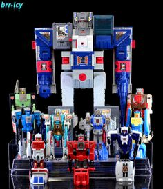 Transformers G1 Headmaster Autobots