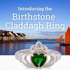 Irish Jewelry, Claddagh Rings, Jewelry Companies, Birthstones, Travel, Voyage, Birth Stones, Viajes, Traveling