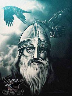 Odin by thecasperart on DeviantArt