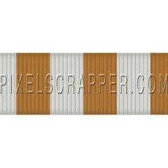 USA Striped Ribbon by Marisa Lerin | Pixel Scrapper digital scrapbooking*