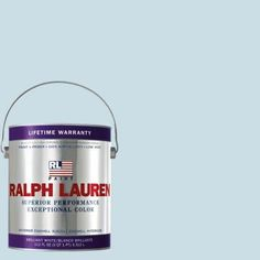 Ralph Lauren 1-gal. Gustavian Blue Eggshell Interior Paint-RL1900E - The Home Depot