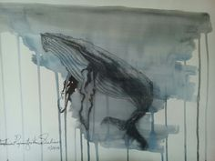 humpback whale Humpback Whale, Ocean Art, Oil Paintings, Anastasia, Fairy Tales, Watercolor, Illustration, Animals, Pen And Wash