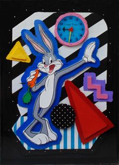 Bugs Bunny Clock by Neil Loeb - Cast Paper