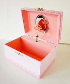 """Amazon.com: Lily & Ally / Flower Ballerina Musical Jewelry Box, with Melody of """"Waltz of the Flowers / the Nutcracker"""": Toys & Games"""