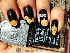 halloween stamping plates http://bunnynails.ecrater.com/  #halloween #nails