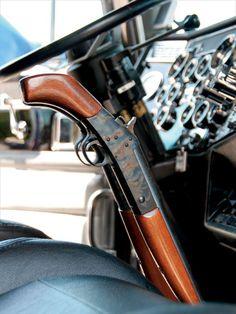 Custom Big Rig Truck Show Rifle Shifter