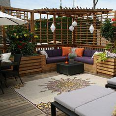 Home-Dzine - Establish some privacy in your garden