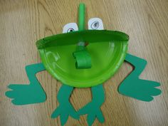 Frogs...would be cute for upcoming crafts in vacation bible schools