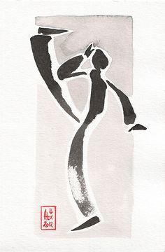 Encres : Capoeira - 203