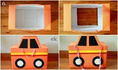 Diaper box car tutorial