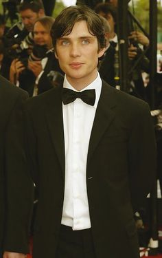 Cillian Murphy in a bowtie <3 I can't take it!!!! asdfghjklasdfghjkl