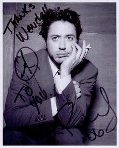 Robert Downey Jr autógrafo Robert Downey Jr., Super Secret, Hollywood, Downey Junior, Marvel Actors, Stony, Man Photo, Forever Young, Tony Stark