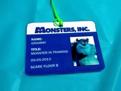 Monster's Inc Birthday Party Ideas | Photo 6 of 36