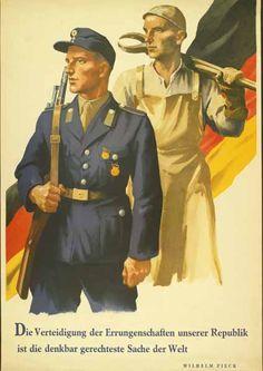 DDR-Plakat aus den 50er Jahren