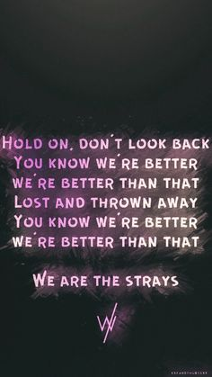Sleeping With Sirens // The Strays
