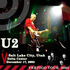 U2 -Vertigo Tour - Salt Lake City,USA-17/12/2005