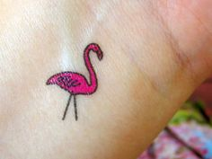 Looking for beautiful bird tattoos, and then what could be a better option that flamingo tattoo designs. So check these design and get one tattooed. Elegant Tattoos, Cute Tattoos, Tattoos For Guys, Bird Tattoos, Ship Tattoos, Party Tattoos, Arrow Tattoos, Awesome Tattoos, Tattos