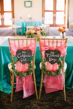 Write On: 21 Chalkboard-Inspired Wedding Ideas via Brit + Co. www.MadamPaloozaEmporium.com www.facebook.com/MadamPalooza