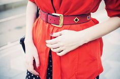 """Vintage ESCADA belt - image from """"The Hearabouts"""" blog"""
