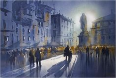 Thomas W. Schaller「Moonlight in the Campo」