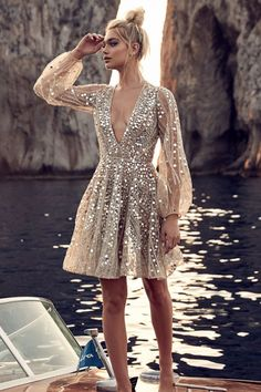 18th Birthday Dress, Birthday Dresses, Glitz And Glamour Party Outfit, Next Dresses, Dresses For Work, Stylish Dresses, Fashion Dresses, Fashion Clothes, Engagement Party Dresses