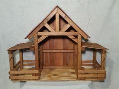Christmas Crib Ideas, Christmas Manger, Christmas Nativity Scene, Xmas, Christmas 2017, Woodworking For Kids, Woodworking Workshop, Woodworking Projects, Teds Woodworking