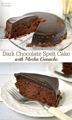 , deep chocolate flavor with a hint of coffee, this recipe for Dark ...