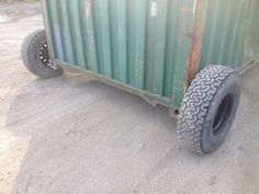 Shipping Container Wheels