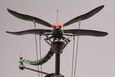 David Beck Art Works (dragonfly movable sculpture)