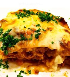 Lasagne with a gorge
