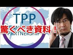 【TPP交渉】驚くべき資料!「外国人投資家が口を出す!」(三橋貴明)