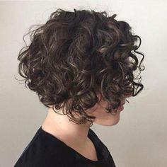 Short Curly Brunette Bob Frisuren lockig 65 Different Versions of Curly Bob Hairstyle Bob Haircut Curly, Bob Haircuts For Women, Haircuts For Curly Hair, Curly Hair Cuts, Short Hair Cuts, Undercut Bob, Curly Short, Medium Curly, Popular Haircuts