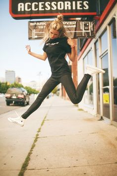 Such a cool pic- love those converse studded hi tops!