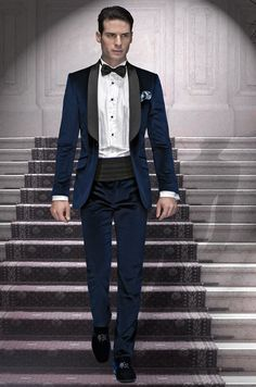 Pant Quality Tie Directly From China Pants Bow Suppliers One On Dark Blue Velvet Groom Tuxedos Groomsmen Men S Wedding Prom Suits