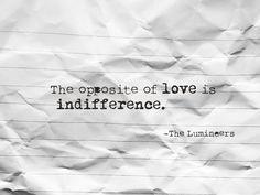 #quote #love #lumineers