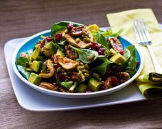 Fall-forward go-to salad! Have a healthy season of eating! #vegan #lunch